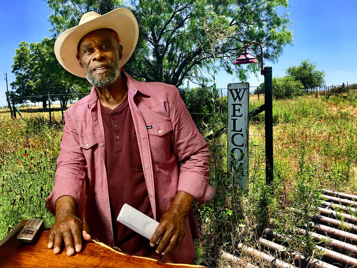 "Voca, Texas. Wine with a story, you gotta love it! ""Gotas de Oro is a wine that defies precise definition."" ~ Alphonse Dotson"